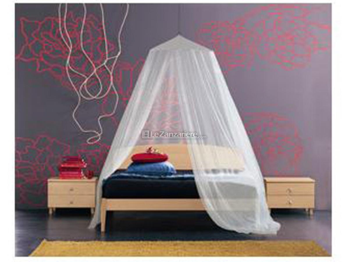 Zanzariera per letto matrimoniale e singolo le zanzariere - Zanzariere da letto ...