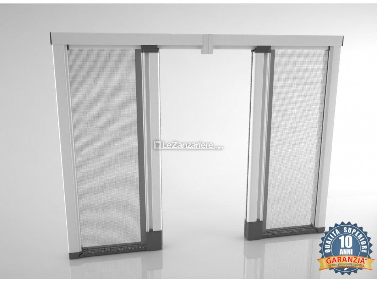 Scenica a due ante bettio zanzariere per porte finestre - Modelli di zanzariere per porte finestre ...