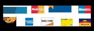 Pagamenti sicuri con carta di credito
